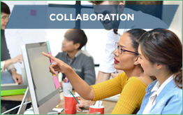 Collaboration - people working together